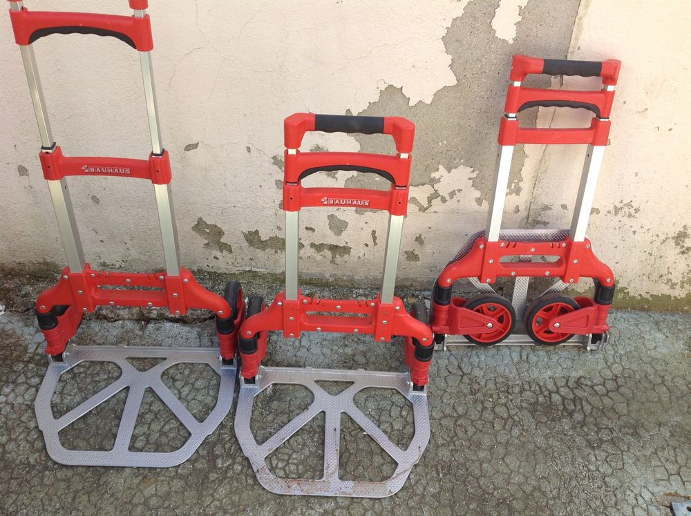 Diables de transport  marque Bauhaus aluminium pliante 0 Ennordres (18)