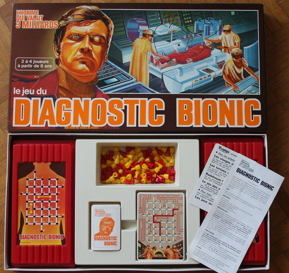 Diagnostic Bionic 1977 - L'homme qui valait 3 milliards 27 Issy-les-Moulineaux (92)