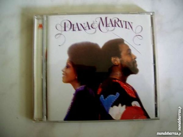 CD DIANA ROSS and MARVIN GAYE Diana & Marvin 11 Nantes (44)