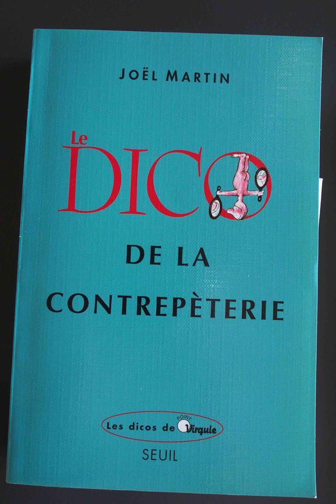 le DICO de la contrepèterie, Joel Martin, Livres et BD