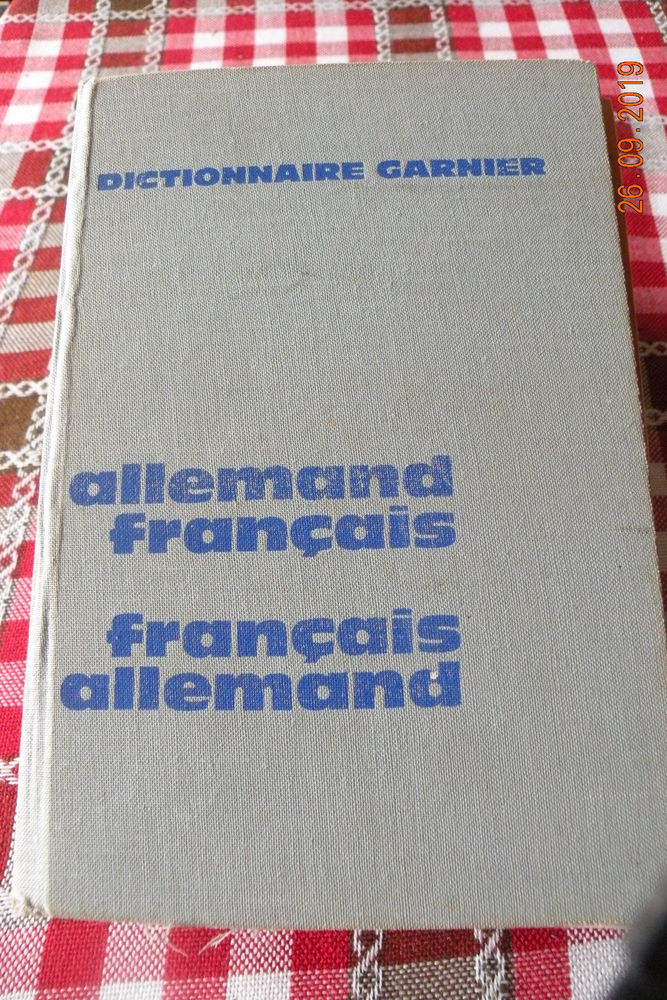 Dictionnaire Allem.-Franc / Franc-Allem. 5 Leers (59)
