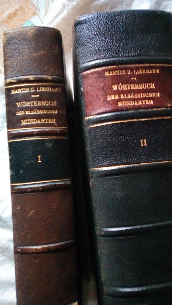 dictionnaire Allemand-Alsacien en 2 tomes  0 Kriegsheim (67)