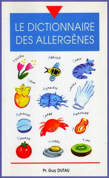 Dictionnaire des allergènes / prixportcompris 10 Lille (59)