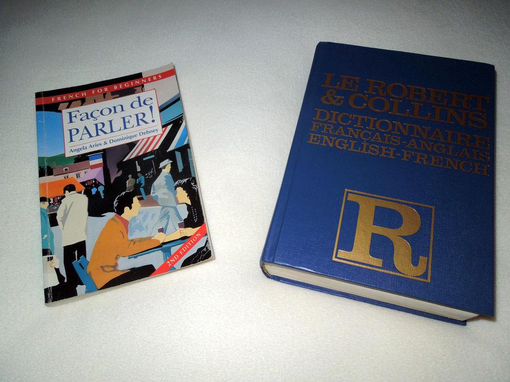 Dictionnaire Anglais-Français ; Robert et Collins + cadeau 15 Hem (59)