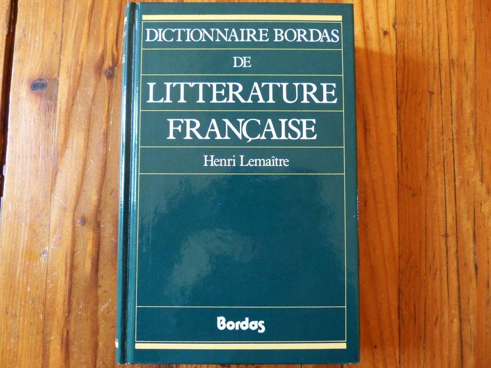 Dictionnaire Bordas de la Littérature française Livres et BD