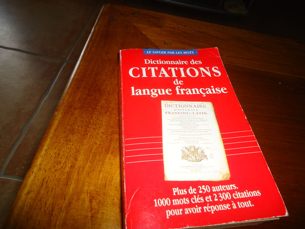 Dictionnaire des citations de langue française 6 Doué-la-Fontaine (49)
