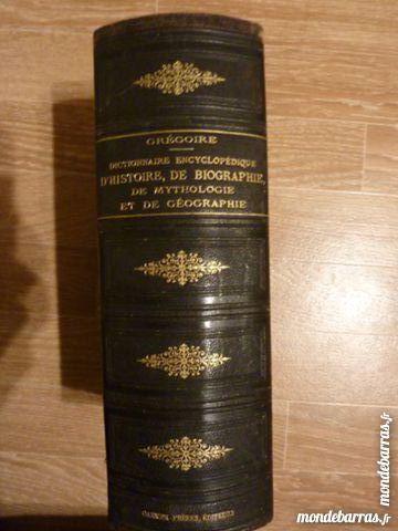 Dictionnaire encyclopedique L GREGOIRE 1872 80 Agen (47)