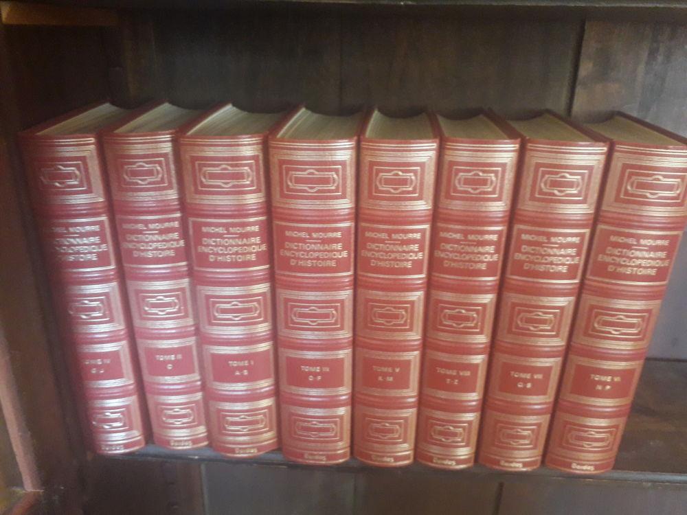 dictionnaire encyclopédique d'histoire reliure prestige roug 200 Bagnolet (93)