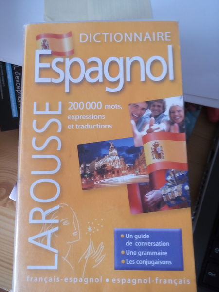 Dictionnaire d'espagnol de poche 5 Paris 14 (75)