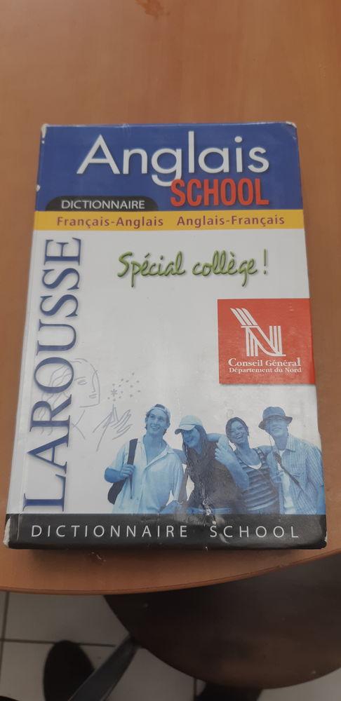 Dictionnaire français anglais collège 4 Croix (59)