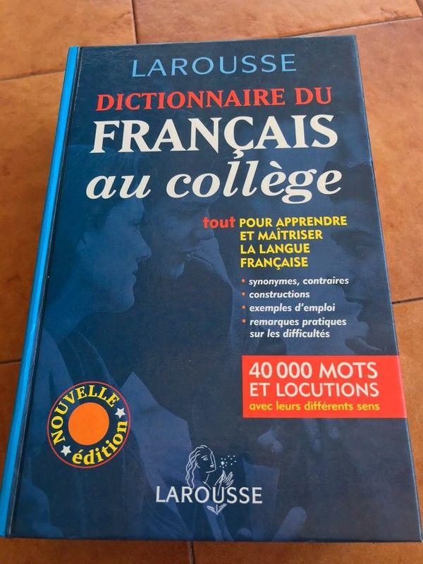 Dictionnaire du Français au Collège 30 Strasbourg (67)