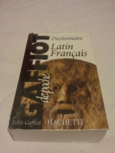 Dictionnaire français - latin Galliot 5 Nantes (44)