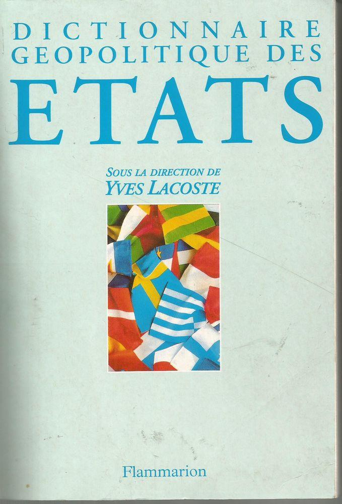 Le Dictionnaire Geopolitique Des Etats 1998 - Yves Lacoste 9 Montauban (82)