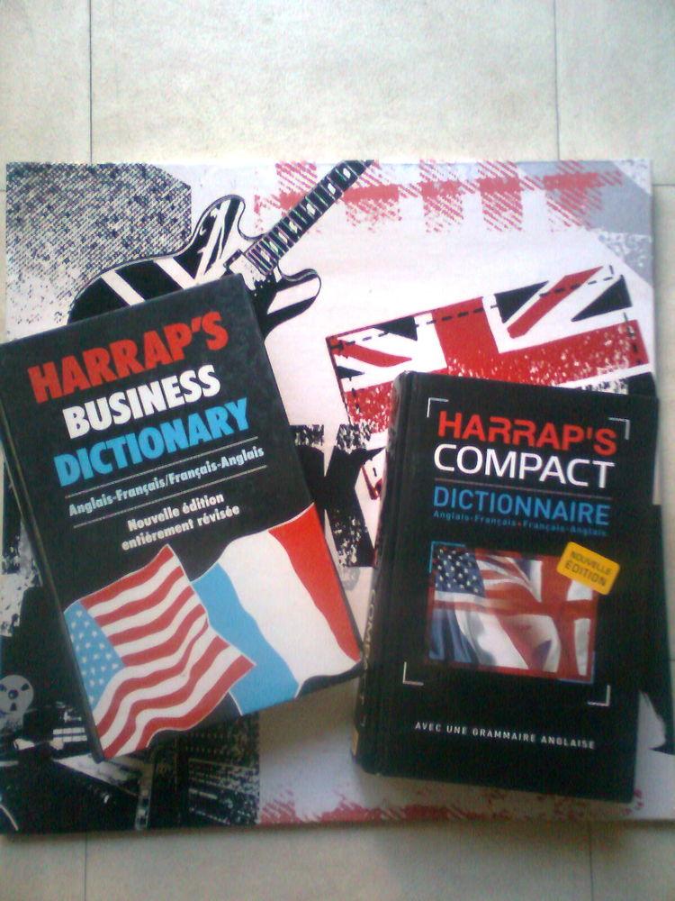Dictionnaire. HARRAP'S COMPACT et  BUSINESS DICTIONARY- zoe 12 Martigues (13)