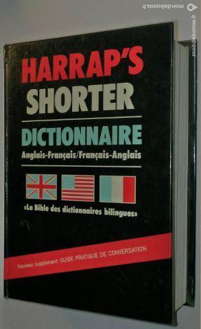 Dictionnaire harrap's shorter francais /anglais 15 Raphele Les Arles (13)
