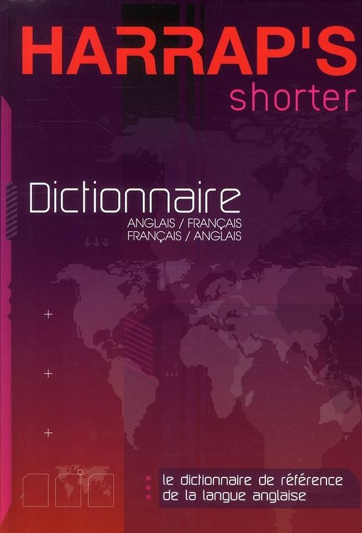 Dictionnaire Harrap's shorter anglais-français 30 Milly-la-Forêt (91)