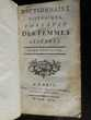 DICTIONNAIRE HISTORIQUE PORTATIF DES FEMMES CÉLÈBRES 1769 Livres et BD