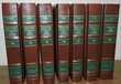 Dictionnaire - langue française en cuir, pages doréés 7vol. Livres et BD