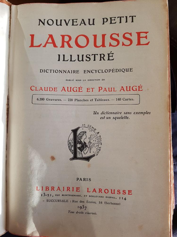 Dictionnaire LAROUSSE 1937 Livres et BD