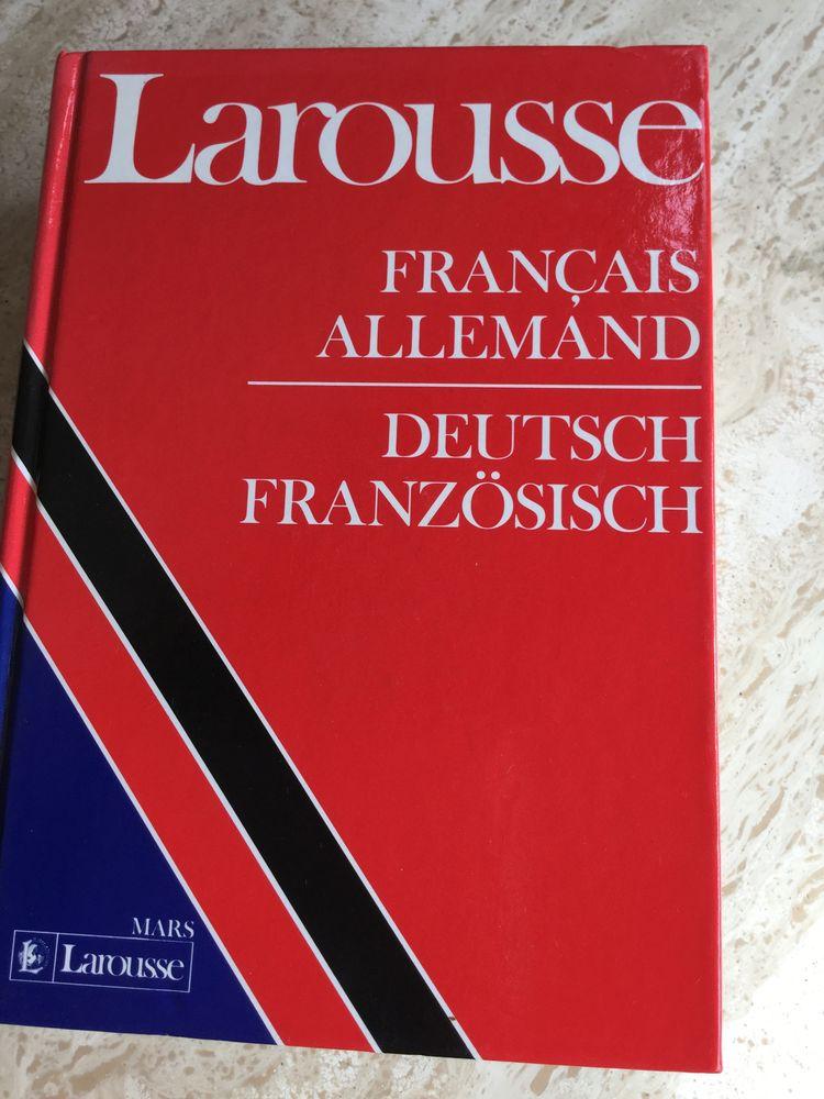 Dictionnaire Larousse Français Allemand 5 Montfaucon (25)