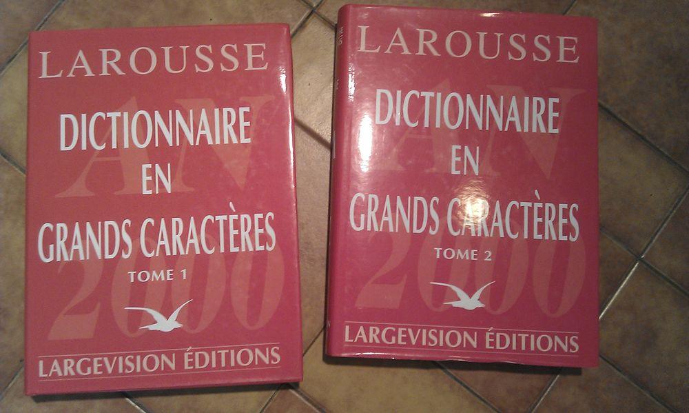 dictionnaire Larousse grands caractères vol 1 et 2 0 Paris 11 (75)