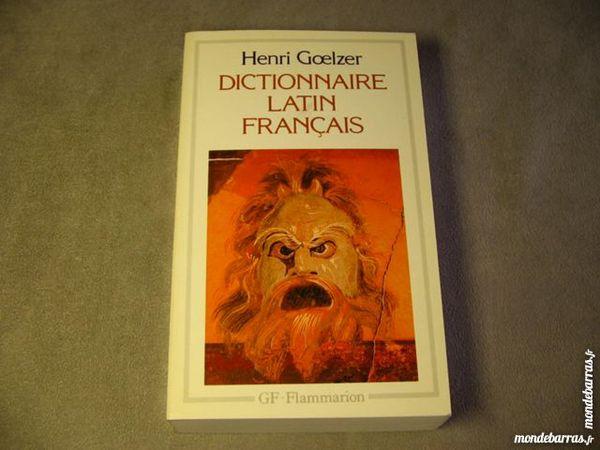 Dictionnaire LATIN FRANCAIS GF Flammarion NEUF 9 Lille (59)