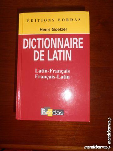 Dictionnaire de latin (8) 8 Tours (37)