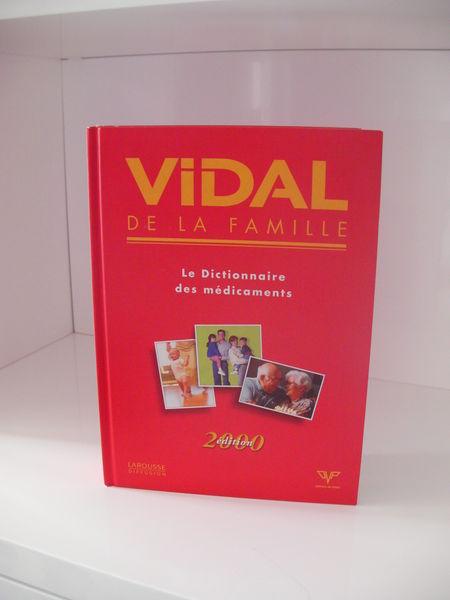 DICTIONNAIRE DES MEDICAMENTS VIDAL de la FAMILLE 10 Saint-Etienne (42)