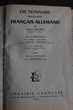 Dictionnaire moderne français allemand, allemand-français, Livres et BD