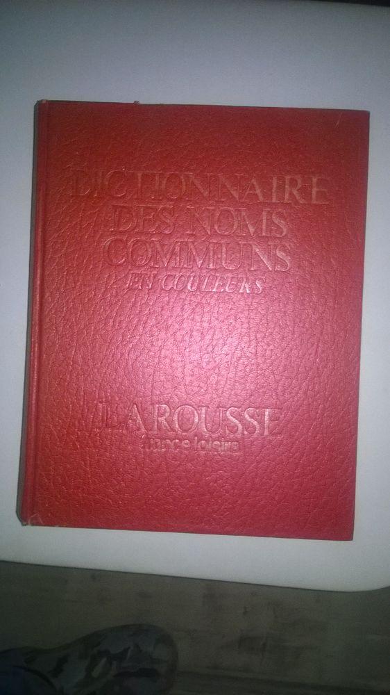 DICTIONNAIRE des noms communs en couleurs 1980 Livres et BD