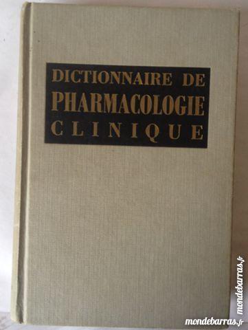 dictionnaire de pharmacologie clinique 12 Illkirch-Graffenstaden (67)