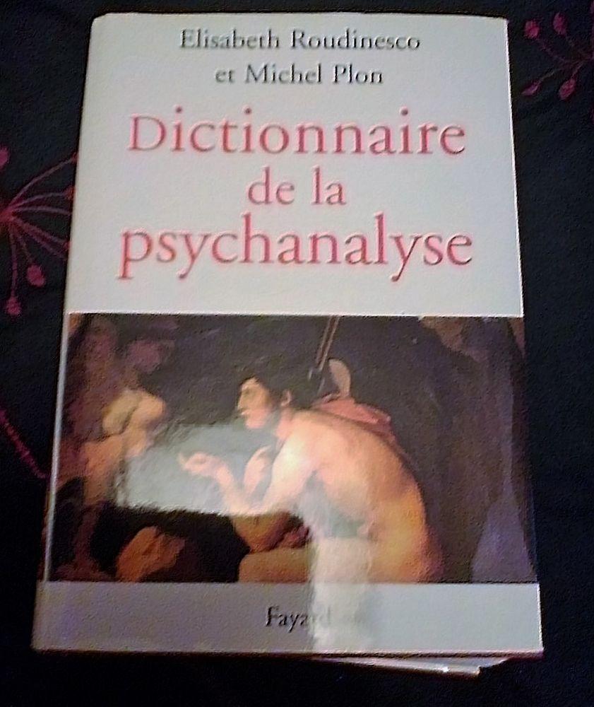 Dictionnaire de la psychanalyse - Roudinesco/Plon  20 Stains (93)