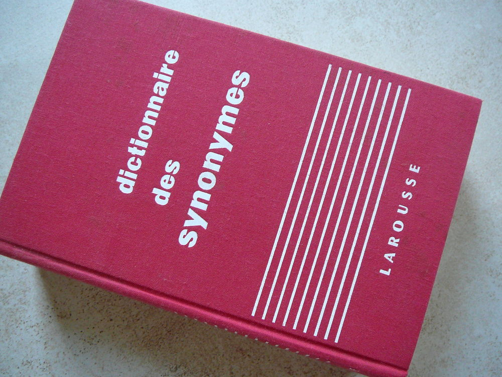 DICTIONNAIRE des SYNONYMES - Larousse 5 Angers (49)