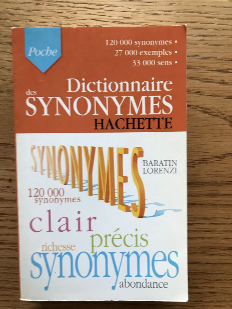 DICTIONNAIRE DES SYNONYMES 3 Levallois-Perret (92)
