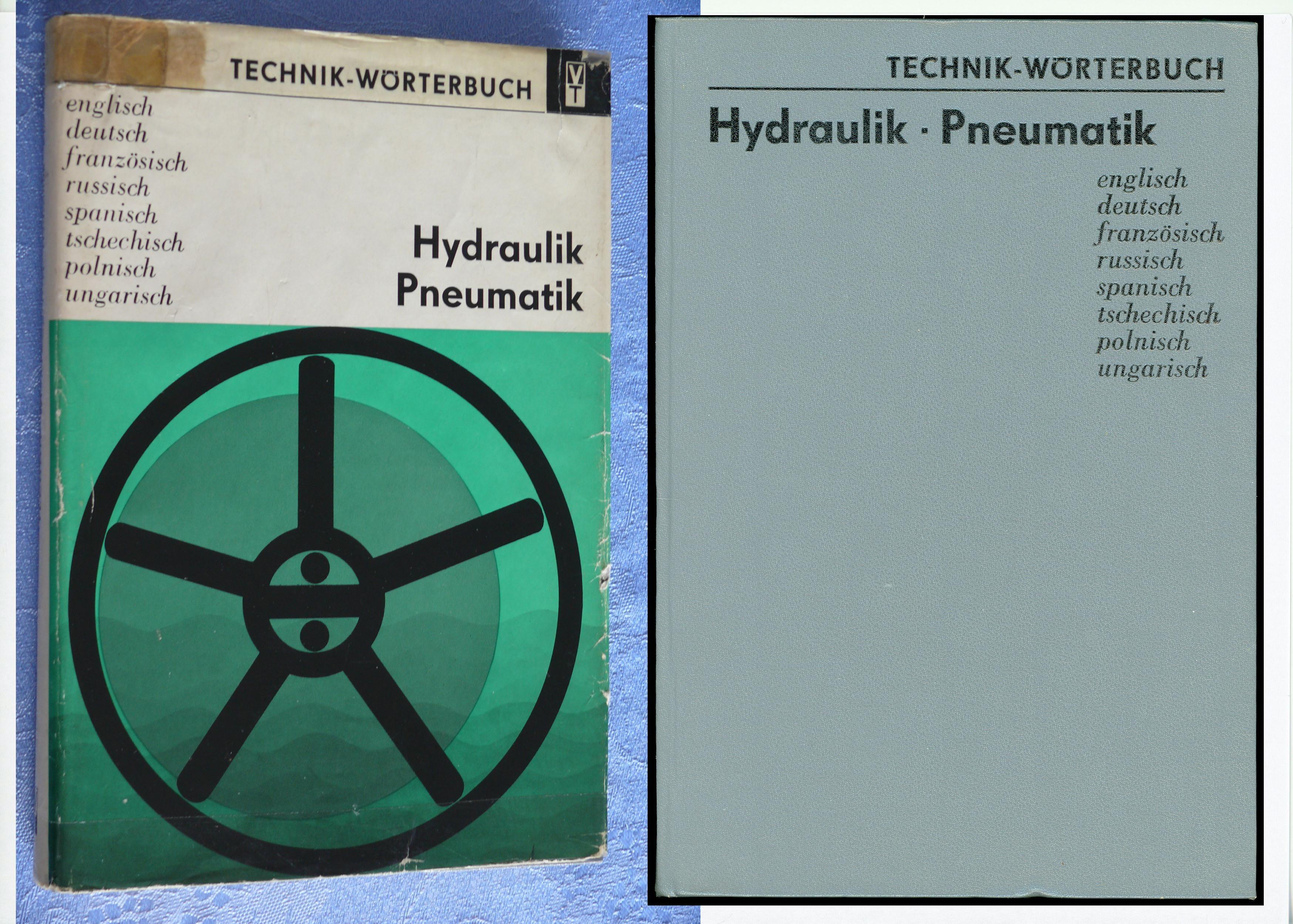 Dictionnaire technique Hydraulique-pneumatique (8 langues)  25 Saint-Laurent-de-Mure (69)