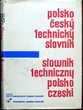 Dictionnaire technique Polonais - Tchèque