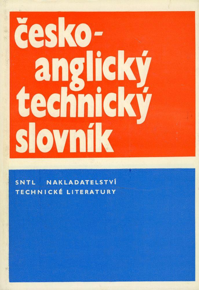 Dictionnaire technique Tchèque ? Anglais Livres et BD