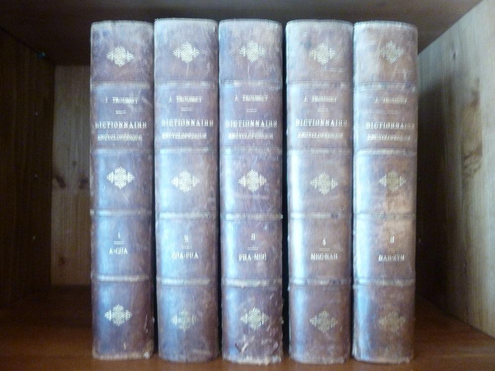 DICTIONNAIRES ENCYCLOPEDIQUES ANCIENS EN 5 VOLUMES 20 Thonon-les-Bains (74)