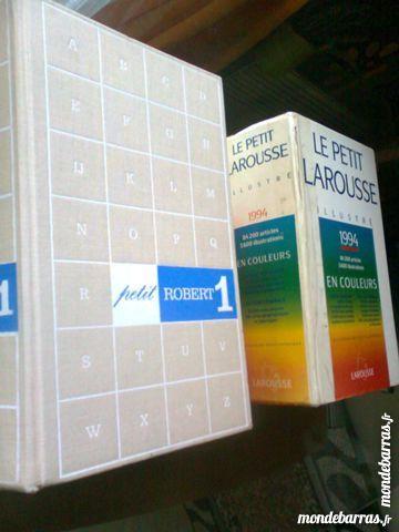 dictionnaires LAROUSSE & ROBERT - zoe 7 Martigues (13)