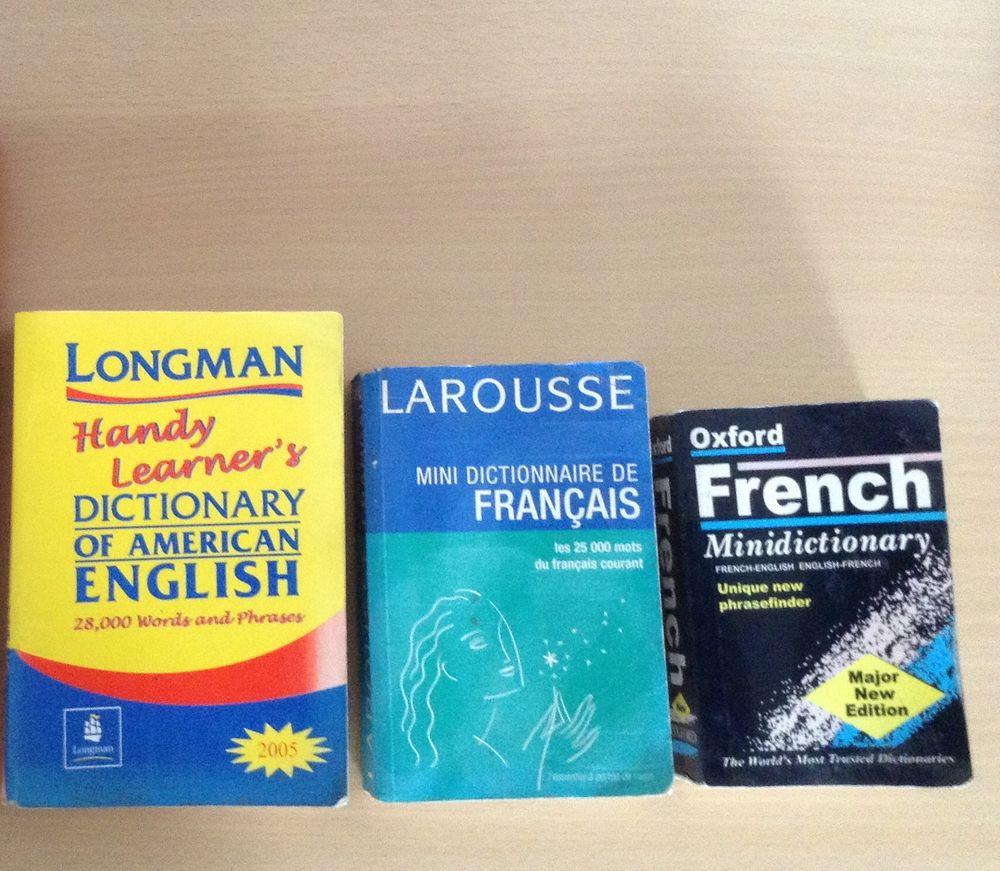 Lot de 3 dictionnaires de poche 4 Nice (06)