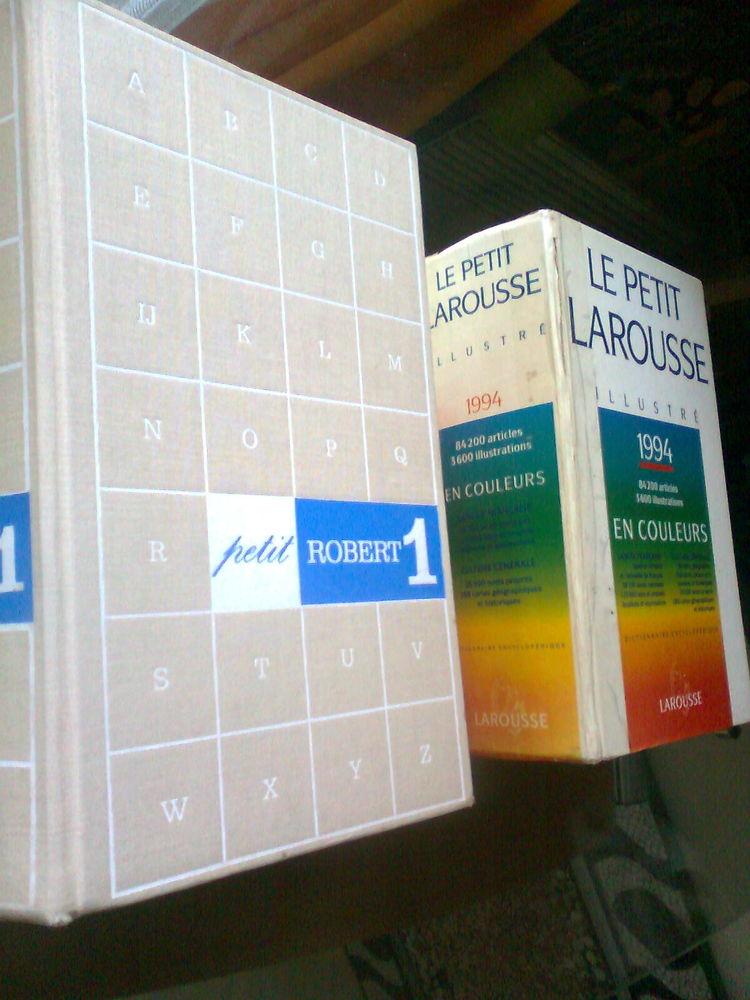 dictionnaires ROBERT et LAROUSSE - zoe 4 Martigues (13)