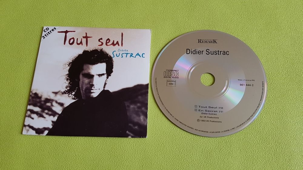 DIDIER SUSTRAC CD et vinyles