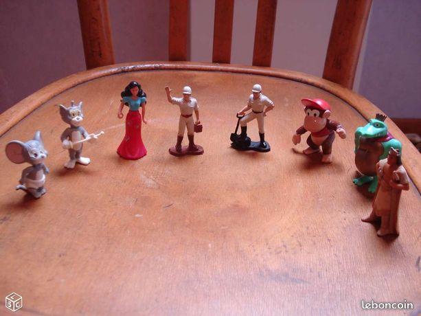 Différentes figurines de wald disney eu dans kinder 1 Mérignies (59)