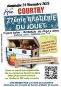 Dimanche 24 novembre 2019 se tiendra la 27ème Braderie du jo 0 Courtry (77)