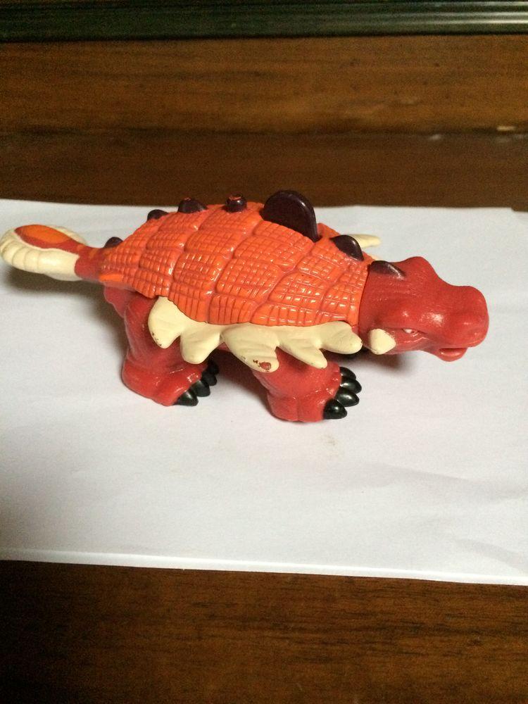 Dinosaure Stregosaurus Ankylosaurus Mattel  2006 5 Charnay (69)