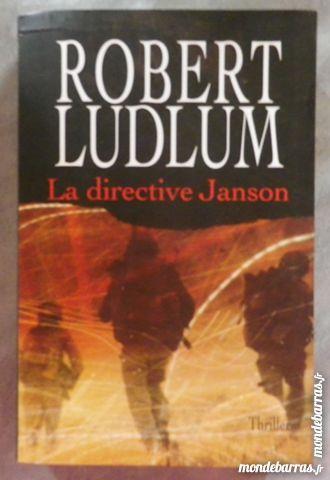 LA DIRECTIVE JANSON de Robert LUDLUM LGLDM 5 Bubry (56)
