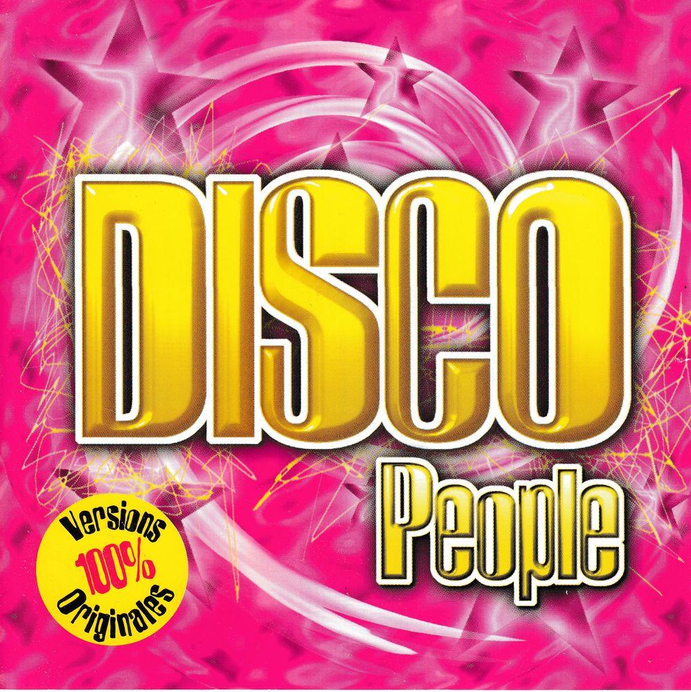 CD  Disco People Vol.1 Versions 100% Originales ESSO Collect 8 Antony (92)