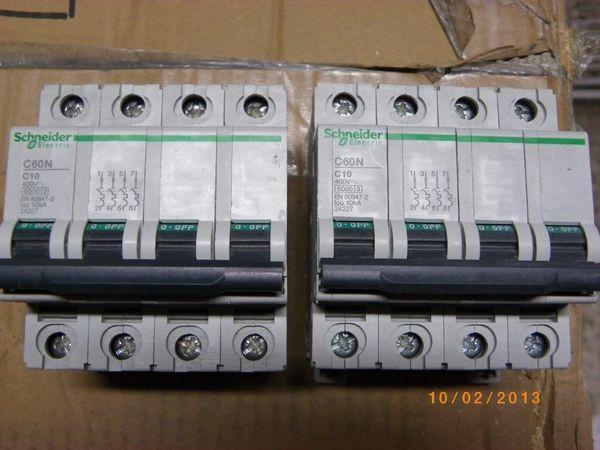 Disjoncteur 4x10a 30 Nantes (44)