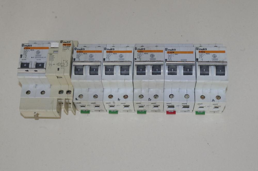 Disjoncteurs C32 4 Grenoble (38)