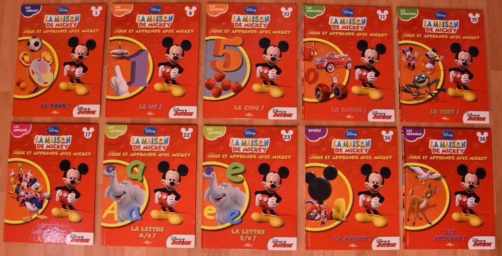 DISNEY. Lot de 10 livres éducatifs Mickey. Pour apprendre  30 Gujan-Mestras (33)